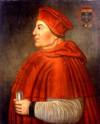 Cardinal Wolsey, English School