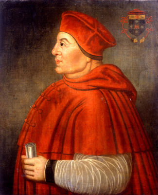Cardinal Wolsey, English School